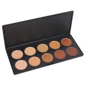 Vnfire Professional 10 Colour Concealer Camouflage Foundation Makeup Palette