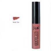 J Cat Eternal Shine Lip Glaze 127 Rose Tea