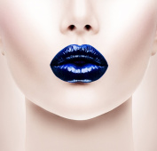 Mettallic Liquid Lipstain - Futuristic Blue