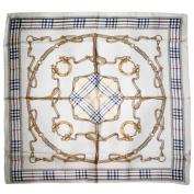 ETSYG® Elegant Womens Large Square Scarves Silk Kerchief Shawl Wrap Fashion Autumn Gift