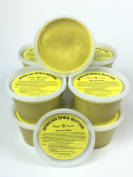"""African Shea Butter """"Yellow/Gold"""" Pure Raw Unrefined 470ml From Ghana """"container"""""""