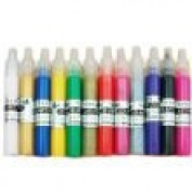 Kitty-Party 12 PCS 3D Colour Nail Art Fine Tip Pen
