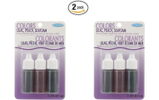 Colours .2220ml 3/Pkg-Lilac, Peach and Seafoam