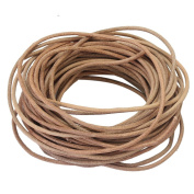 9M Natural Colour Round Leather Necklace Jewellery Making Cord String Crafts 2mm