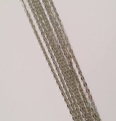 """20 Deanna's Supply Shop Vintage Style Rolo Chain Necklaces - Antique Silver Colour - 24 Inch - 3 x 4mm Links - 24"""""""