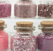 The Pink Set - Glitter & Beads