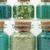 The Green Set - Glitter & Beads