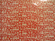 """Happy """"Fire"""" Birthday 12x12 Lace Cardstock"""