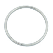 "Bluemoon 5 Pcs - 76mm 3"" Metal O-rings Rings Non Welded"