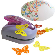KREPLACEMENT® Butterfly Paper Punch Cutter Tool Large Shape Craft DIY Puncher 3.7*2.7*6.9cm