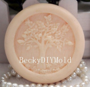 Creativemoldstore 1pcs Life Tree (zx49) Craft Art Silicone Soap Mould Craft Moulds DIY Handmade Soap Mould