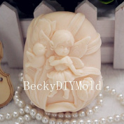Creativemoldstore 1pcs 7.7x6.6x3.5cm Girl (zx44) Craft Art Silicone Soap Mould Craft Moulds DIY Handmade Soap Mould