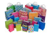 Kraft Gift Bags, 28ct bulk set, assorted sizes