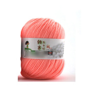 Vanker Fibroin Wool Yarn Fibre Soft Smooth Worsted Natural Silk Skein for Scarves Gloves Socks Knitting Crochet