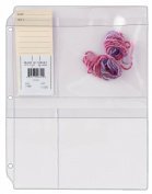 StoreSMART® - Yarn Organiser - 4-Pocket Binder Page - 10-Pack - R931F-YARN-10