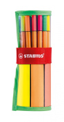 Stabilo Point88 Fineliner Marker Pen Assorted Roller Set - 30 Pack - 25 + 5 NEON