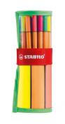 Stabilo Point88 Fineliner Marker Pen Assorted Roller Set - 30 Pack - 25 + 5 NEON