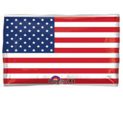 60cm U.S. Flag JR Shape Foil Balloon-Includes 1