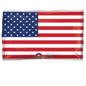 60cm U.S. Flag JR Shape Foil Balloon-Includes 1