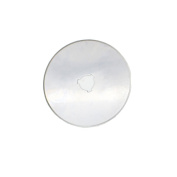In-tool-home 60mm Rotary Cutter Refill Replacement Blades Include Plastic Blade Storage Pack of 5
