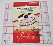 Sew Easy 17cm x 17cm Square Patchwork Quilt Ruler NL4177