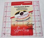 Sew Easy 17cm x 17cm Square Patchwork Quilt Ruler NL4177