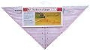 Sew Easy Quilting Ruler 90 Degree Triangle 19cm X 39cm