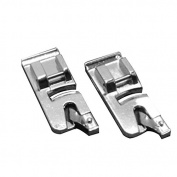 WINOMO 2pcs 6mm Snap on Rolled Hem Narrrow Hem Presser Feet