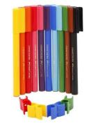 10 Colour Connector Pens FABER CASTELL