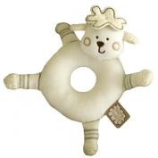 Sleepy Sheepy Round Rattle