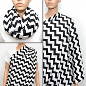 LiveBox Extra Long Breast Feeding Infinity Nursing Scarf