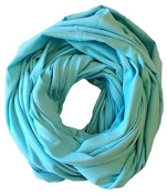 Liv and Lila Nursing Scarf - Aqua