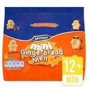 McVitie's Mini Gingerbread Men 6 x 25g by McVities