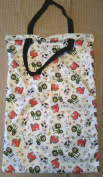 Farm Life XL Hanging Wet Bag 38cm x 60cm Reuseable Laundry Holds 15-20+ Cloth Nappy