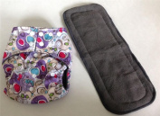 Doodle Charcoal Bamboo Pocket Cloth Nappy Nappies Nappy **Insert Included**