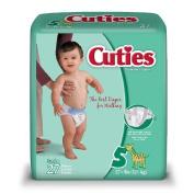 Cuties Premium Baby Nappies, Size 5, 27 ea