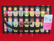 Matryoshka Dolls Nappy and Wipes Case Holder Clutch Pouch Bag