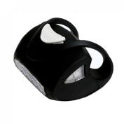 1Pc Howling 3 Mode 7x LED Popular Silicone Bike Light Warning Indicator Headlight Waterproof Colour Black