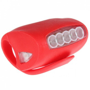 1Pc Lordly 3 Mode 7x LED Popular Silicone Bike Light Rear Bicycle Warning Indicator Easy to Use Colour Red