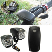 1Pc Pre-eminent 3 Modes 5x LED Bike Light Bicycle Lamp Cycling Flashlight Super Bright Colour Black