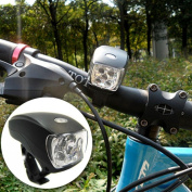 1Pc Transcendental 3 Modes 5x LED Bike Light Bicycle Lamp Waterproof Torch Super Bright Colour Black