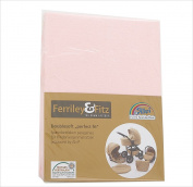 Ferriley & Fitz Double Soft pram Fitted Sheets 02 Pink