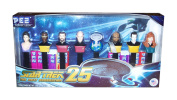Pez Star Trek Dispensers Collectors Series The Next Generation 25th Anniversary Gift Set Pez Star T