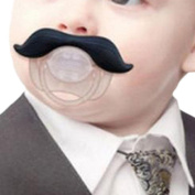 Great Deal(TM) Moustache Pacifier - For Baby 0-6 6-12 Months - For Infants, Newborns, Boys and Girls - Funny Novelty Pacifier - Full.