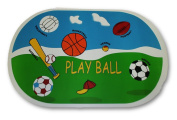 "Sports ""Play Ball"" Vinyl Placemat Set of 2"