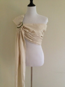 Bibetts Pure Linen 'Natural Ivory' Ring Sling Baby Carrier