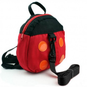 HuntGold Ladybug Style Kid Child Toddler Safety Harness Backpack Bag Lead Strap Knapsack(Lead Strap