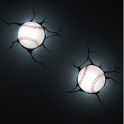3D Wall Art Kids Nighlight - Baseball