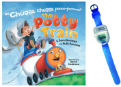 The Potty Train Book by David Hochman & Ruth Kennison with Potty Watch