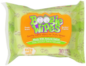 Boogie Wipes Natural Saline 30 Count per Pack